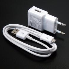 Jual Samsung Travel Charger Original For Galaxy Series Tab Series 2A Adapter Micro Usb Cable Putih Samsung Ori