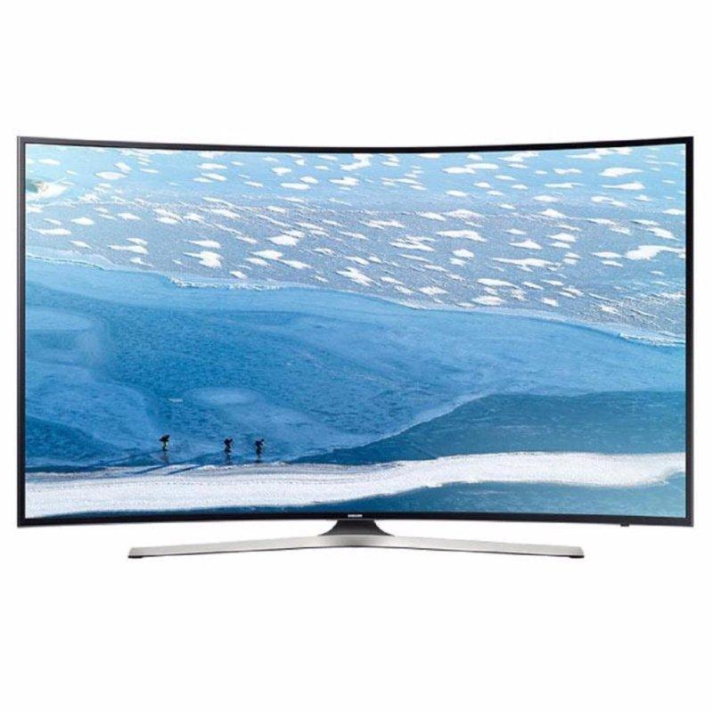 Samsung UA-49KU6300 4K UHD LED TV Curved Smart 49 - Hitam - Khusus Jabodetabek