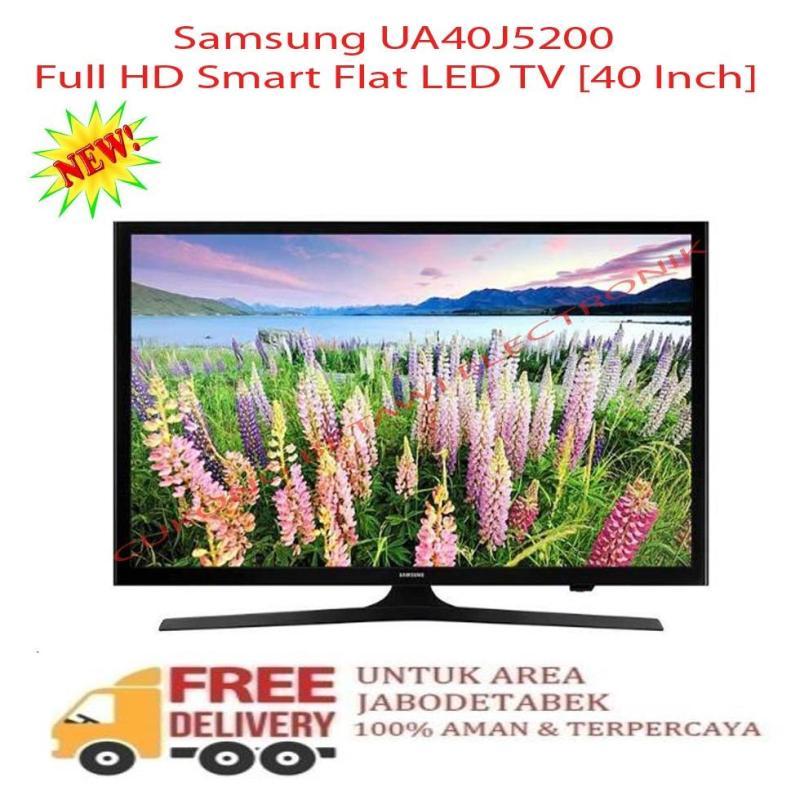 Samsung UA40J5200 Full HD Smart Flat LED TV [40 Inch] - KHUSUS JABODETABEK