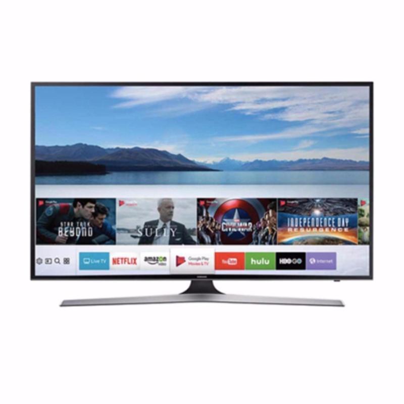 Samsung ULTRA HD Smart TV 55 - 55MU6100 - Hitam - Khusus Kota Medan (Free Ongkir)