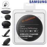 Katalog Samsung Wireless Charger Fast Charger S8 S8 Convertible Pad Stand Original Black Terbaru