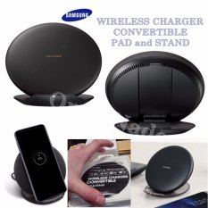 Beli Samsung Wireless Charger Micro Usb Cable Convertible Pad And Stand Faster Charging Technology Compatible With Samsung Galaxy S8 S8 S7 S7 Edge Note5 S6Edge Black Baru