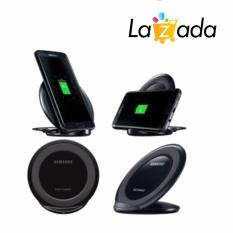 Samsung Wireless Charger Stand Fast Charging for Galaxy Note 5 / S6 / S6 Edge / S7 / S7 Edge - Hitam