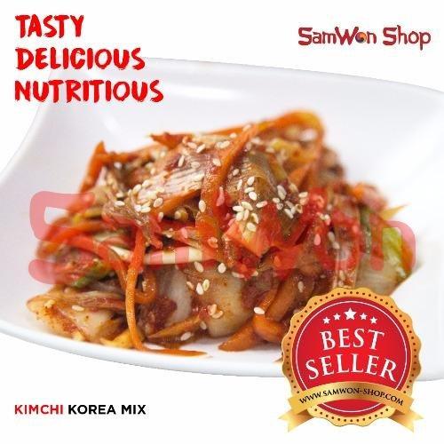 Beli Samwon Kimchi Mix Sawi Lobak Wortel Fresh 500 Gram Makanan Korea Online