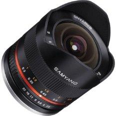 Samyang 8mm f/2.8 Fisheye II Lens for Fujifilm X Mount Gelang Merah - Hitam