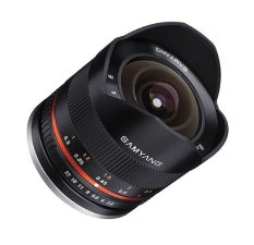 Samyang 8mm f/2.8 Fisheye II Lensa for Sony E Mount - Hitam