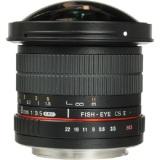 Promo Samyang 8Mm F 3 5 Umc Cs Ii Fisheye Lensa With Removable Hood Ring Merah For Canon Hitam Murah