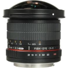 Jual Beli Samyang 8Mm F 3 5 Umc Cs Ii Fisheye Lensa With Removable Hood Ring Merah For Canon Hitam Di Jawa Timur