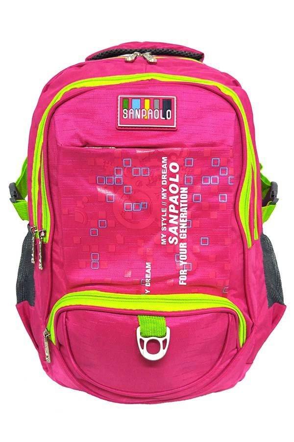 San Paolo 8911-19 Tas Ransel -Pink