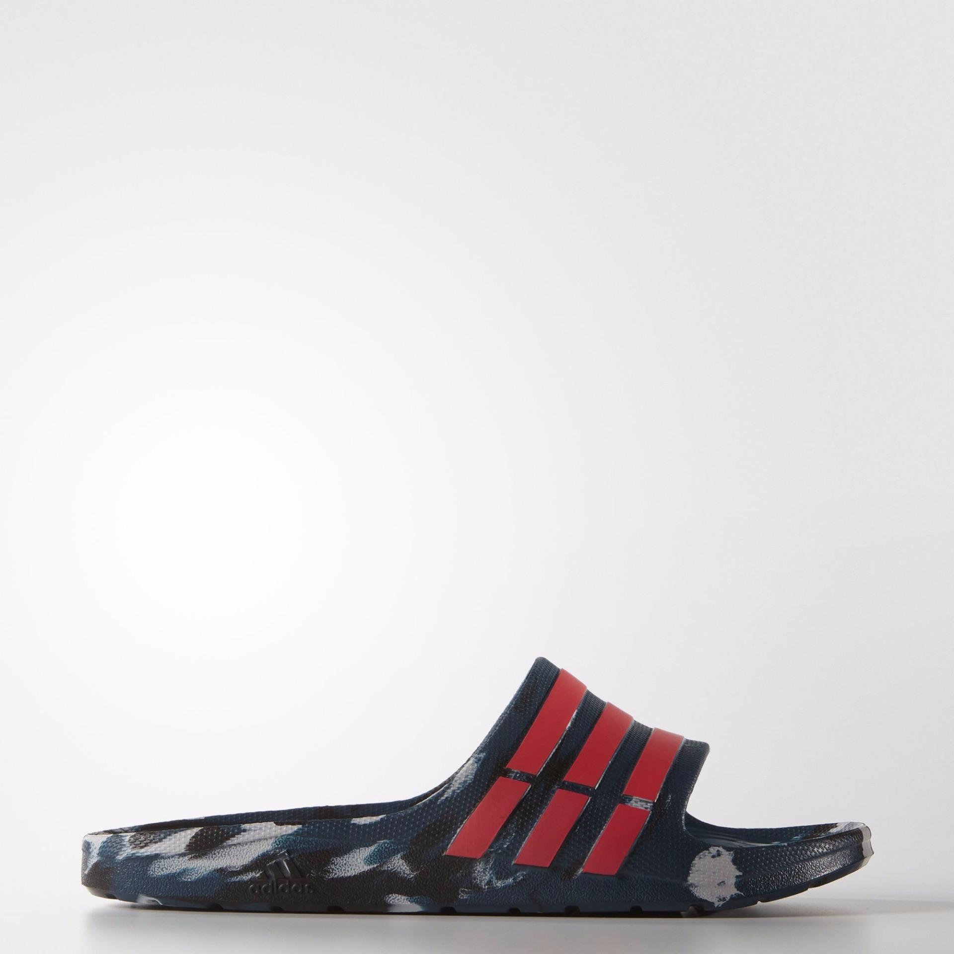 Harga Sandal Adidas Duramo Slide Marble Navy Red Aq5257 Adidas