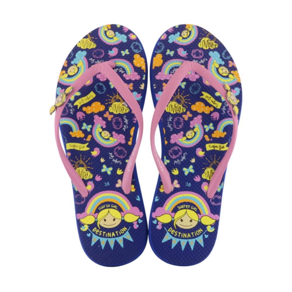 Harga Sandal Flip Flop Surfer G*rl Limited Edition Sg 73 R Blue Terbaik