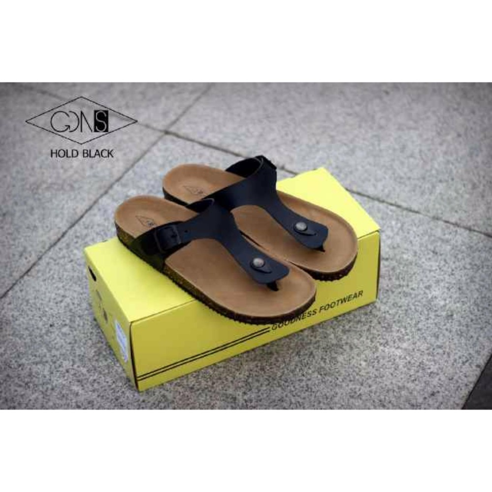 Promo Sandal Pria Casual Trendy Elegan Goodness Hold Premium High Quality Original Handmade Murah