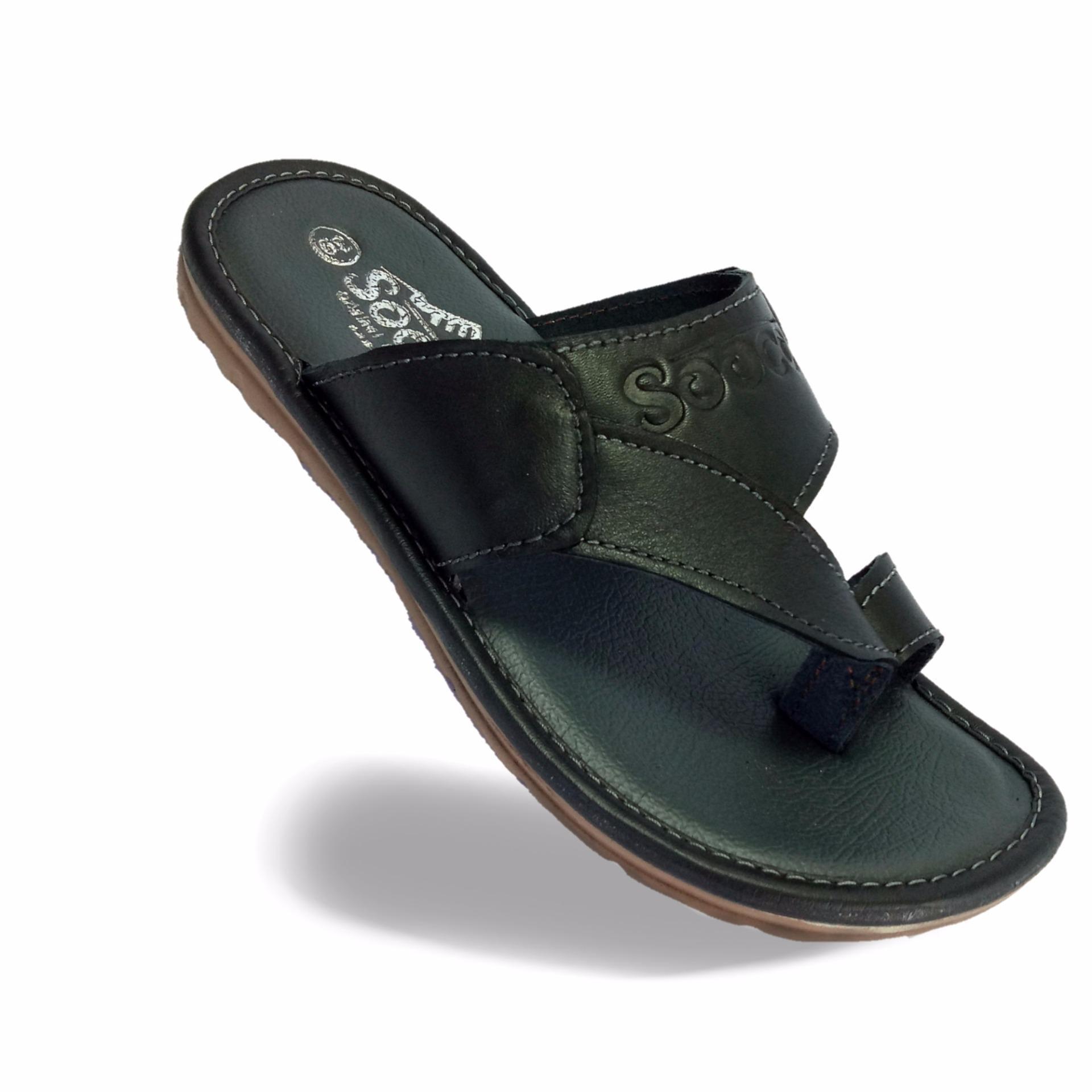 Spesifikasi Sandal Pria Kulit Asli Sooco Dan Harganya
