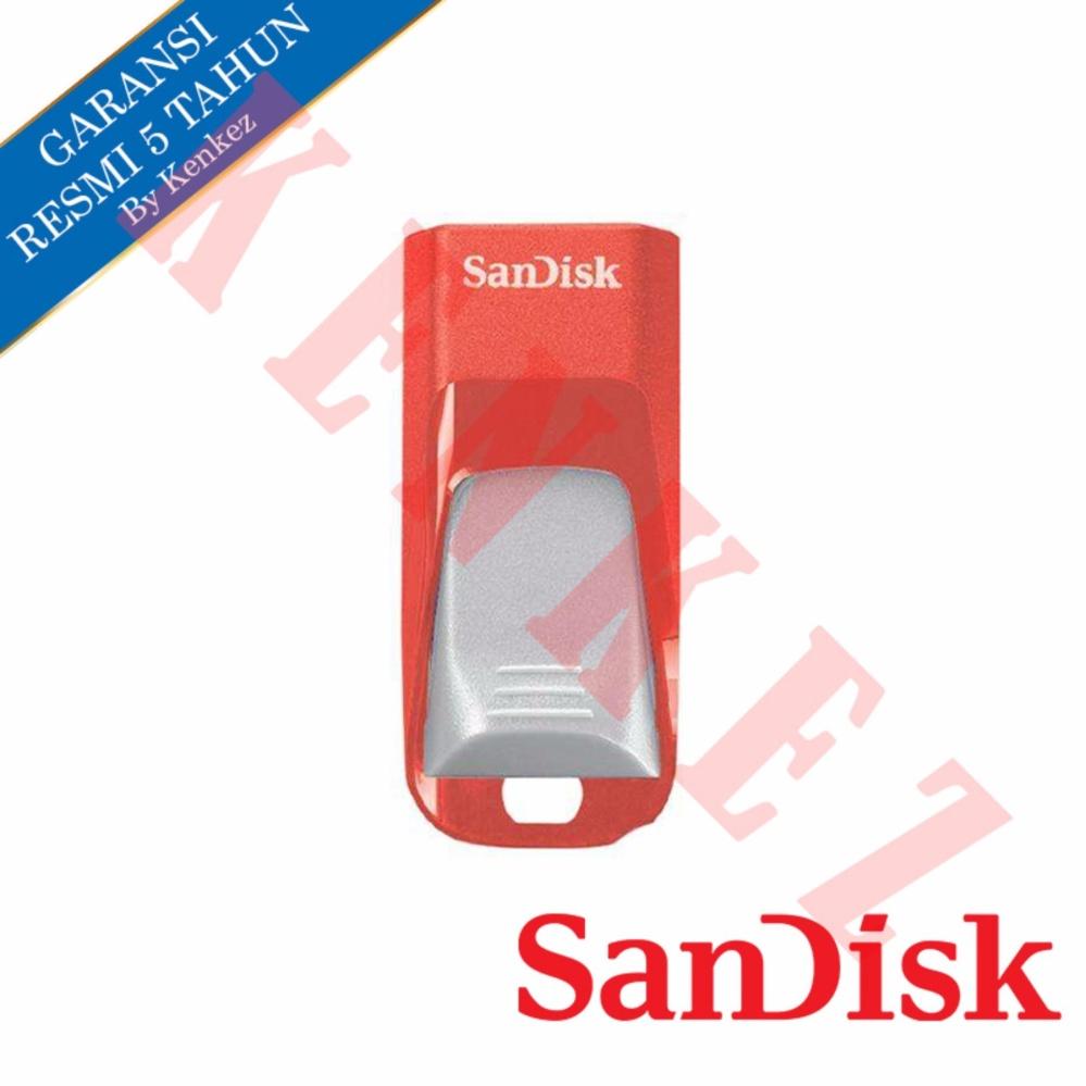 Sandisk Cruzer Edge USB Flashdisk 16GB - Merah