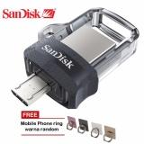 Jual Sandisk Dual Drive M3 16Gb Flash Drive For Android Iring Mobile Phone Di Bawah Harga