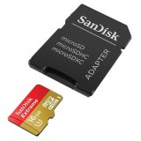 Harga Sandisk Extreme Microsdhc Uhs 1 Card With Adapter 16 Gb 4K Cl10 90Mb S 600X Merah Kuning Baru