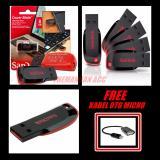 Beli Sandisk Flasdisk Cruzer Blade Usb 2 8Gb Original Kabel Otg Micro Sandisk Online