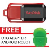 Jual Sandisk Flash Disk Cruzer Switch 32 Gb Gratis Otg Adapter Android Robot Hijau Sandisk Grosir