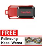 Diskon Sandisk Flash Disk Cruzer Switch 32 Gb Gratis Pelindung Kabel Warna Random