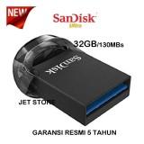 Beli Sandisk Original Flash Drive Ultra Fit 32Gb 130Mb S Usb 3 1 Hitam Sandisk Online