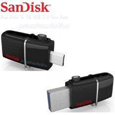 Toko Sandisk Flash Drive Dual Usb Otg 3 Ultra 16Gb Save Data Original Terlengkap Di Dki Jakarta
