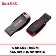 Sandisk Flashdisc Flashdisk USB Flash Drive Cruzer Blade 8GB Gb Ori Original Asli
