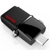 Beli Sandisk Flashdisk Dual Drive Otg 16Gb Usb 3 150Mb S Hitam Cicilan