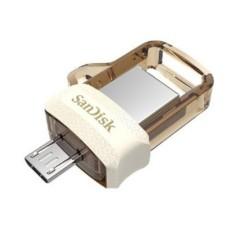 SanDisk m3.0 Ultra Dual USB Drive OTG [32 GB/USB 3.0/GOLD] *Original Garansi Resmi*