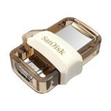 Spesifikasi Sandisk M3 Ultra Dual Usb Drive Otg Gold 64 Gb Usb 3 Original Garansi Resmi Dan Harganya