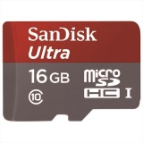 Harga Hemat Sandisk Micro Sd 16 Gb Class 10 Speed 80 Mbps