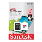 Cara Beli Sandisk Micro Sdhc 16Gb Speed 80Mb S Mobile Ultra Class 10