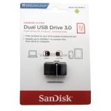 Beli Sandisk Otg 32Gb Usb 3 Ultra Dual Usb Drive Black Di Dki Jakarta