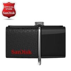 Sandisk OTG Ultra Dual Drive USB 3.0 - 128GB - Hitam