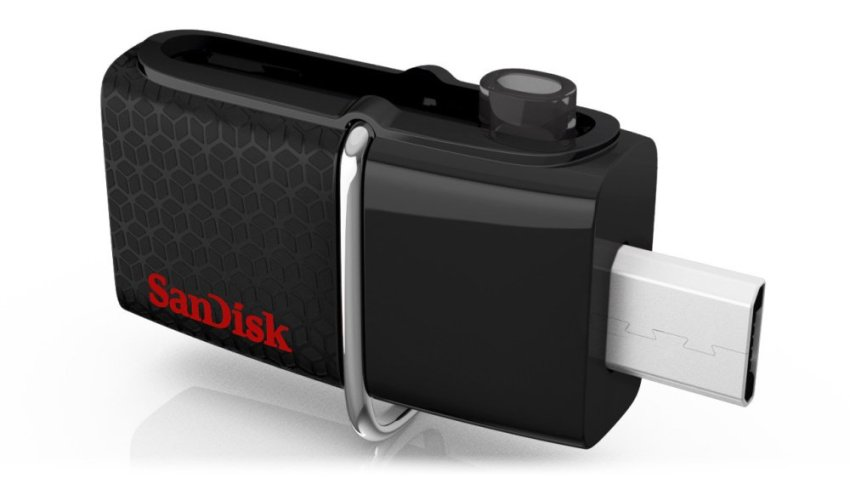 ... Sandisk OTG Ultra Dual Drive USB 3.0 - 32GB Black