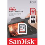 Beli Sandisk Sdhc Ultra Memory Card 32 Gb Class 10 Uhs 1 80 Mbps Garansi Resmi Online