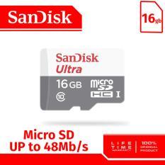 Beli Sandisk Ultra 48Mbps Microsdhc Card 16Gb Sandisk