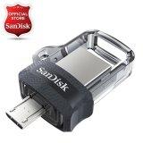 Beli Sandisk Ultra Dual Drive M3 128Gb Usb 3 Otg Flash Drive Murah Dki Jakarta
