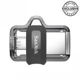 Harga Sandisk Ultra Dual Drive M3 Otg For Smartphone 16Gb Hitam Branded