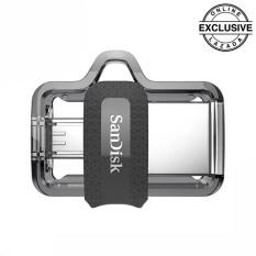 Sandisk Ultra Dual Drive M3 Otg For Smartphone 16Gb Hitam North Sumatra Diskon 50