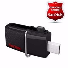 Sandisk Ultra Dual Usb Drive 16 Gb Hitam Original