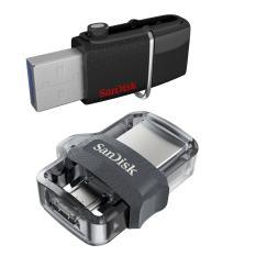 Diskon Sandisk Ultra Dual Usb Drive 32 Gb Hitam Sandisk Jawa Barat