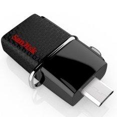 Jual Sandisk Ultra Dual Usb Drive Otg 64Gb Usb 3 Hitam Lengkap