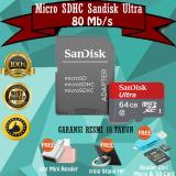 Sandisk Ultra Memory Micro Sd Sdxc Uhs I Speed 80Mb S 64Gb Class 10 With Adapter Gratis Otg Mini Reader 2In1 Iring Stand Hp Diskon Dki Jakarta