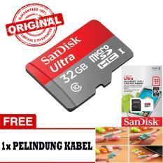 Jual Sandisk Ultra Micro Sd 32Gb 80Mb S Class 10 Uhs Gratis Pelindung Kabel Sandisk Ultra Grosir