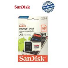 Jual Sandisk Ultra Micro Sdxc 128Gb 100Mb S Free Adaptor Satu Set
