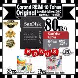 Sandisk Ultra Micro Sdxc 80Mb S 64Gb Class 10 Sd Adapter Gratis 2Pcs Pelindung Kabel Spiral 2Pcs Pelindung Ujung Kabel Dki Jakarta Diskon 50