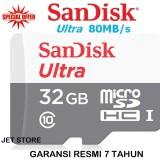 Beli Sandisk Ultra Microsdhc 32 Gb 80Mb S Putih Cicil