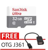 Jual Sandisk Ultra Microsdhc Card Class 10 48Mb S 32 Gb Gratis Otg Adapter Kabel Sandisk Grosir