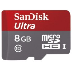 Jual Sandisk Ultra Microsdhc Card With Adapter 8Gb