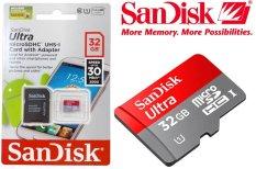 Harga Sandisk Ultra Microsdhc Micro Sd Card Uhs I Class 10 48Mb S 32Gb Ori Yang Murah Dan Bagus